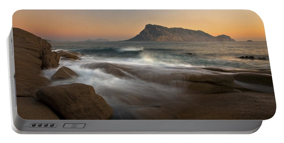 Europe Portable Battery Charger featuring the photograph Tavolara Island by Milan Gonda