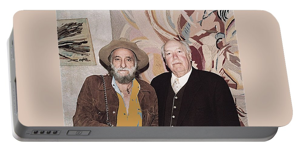 Ted Degrazia Cinematographer Lee Garmes Gallery In The Sun Tucson Arizona No Date-2013 Portable Battery Charger featuring the photograph Ted Degrazia Cinematographer Lee Garmes Gallery In The Sun Tucson Arizona No Date-2013 by David Lee Guss
