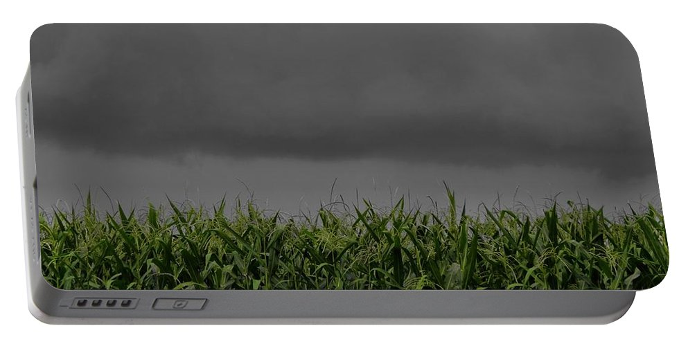 Storm Clouds Photograph Portable Battery Charger featuring the photograph Tempest by Dan Sproul