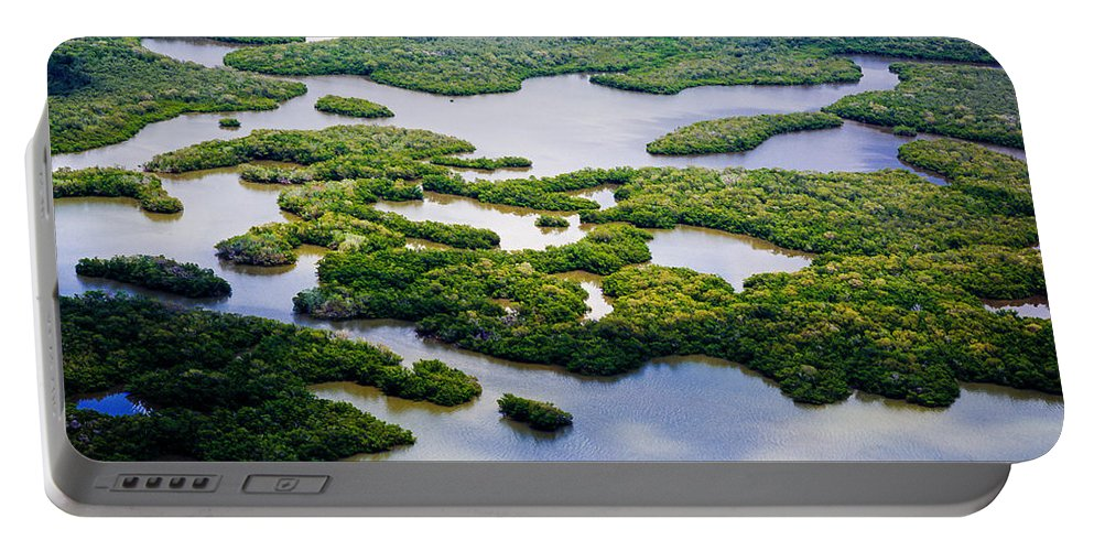 10 Portable Battery Charger featuring the photograph Ten Thousand Islands 2 by Tracy Knauer