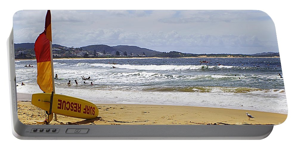 Beach Portable Battery Charger featuring the photograph Terrigal 112 by Ben Yassa