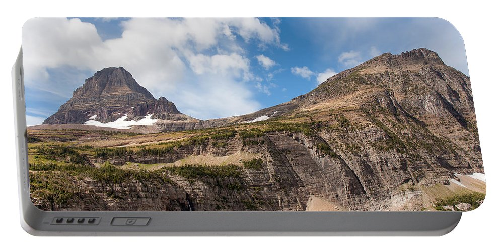 Sky Portable Battery Charger featuring the photograph The Approach To Mount Reynolds by John M Bailey