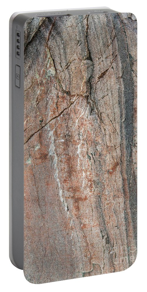 Abstract Portable Battery Charger featuring the photograph The Art Of God by Diane Macdonald