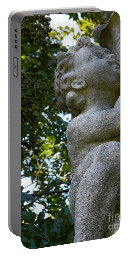 Italian Portable Battery Charger featuring the photograph The Baby At Gibraltar 2 by Heather Jane