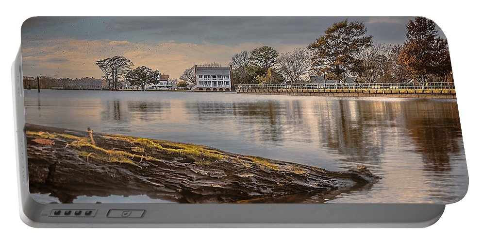 1782 Barker House Portable Battery Charger featuring the photograph The Bay by Chris Modlin