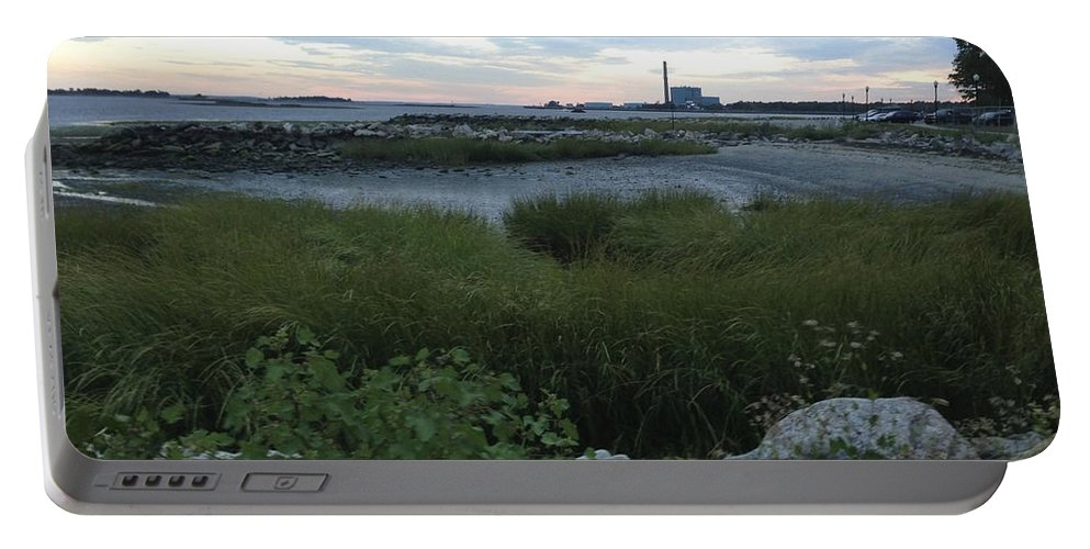 Shore Portable Battery Charger featuring the photograph The Beauty Of Connecticut's Shoreline by Christy Gendalia