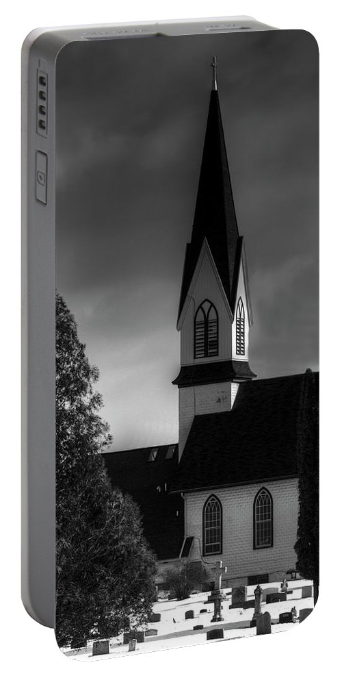 Church Portable Battery Charger featuring the photograph The Beginning And The End by Thomas Young