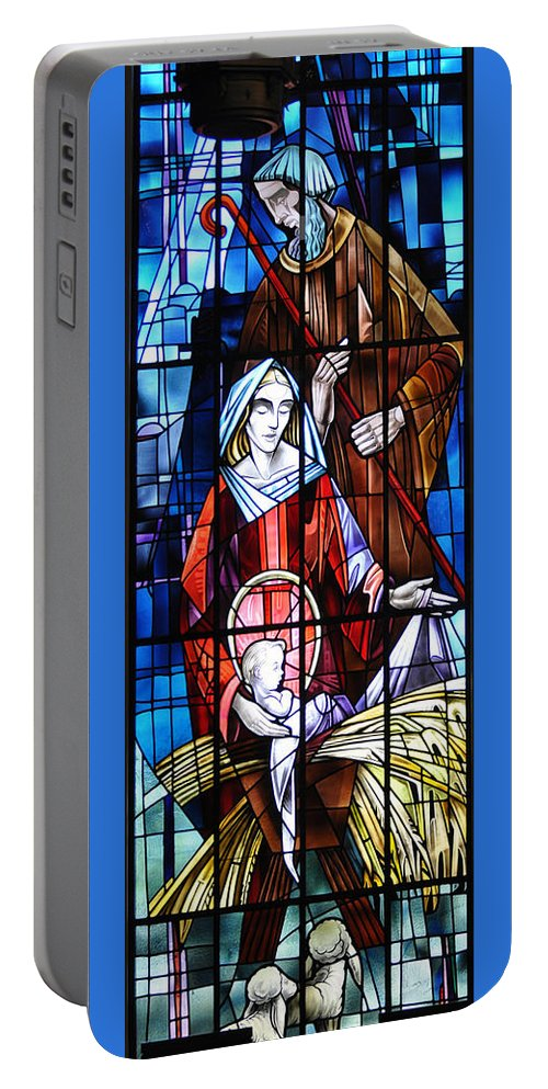 Birth Portable Battery Charger featuring the photograph The Birth Of Jesus  by Savannah Gibbs
