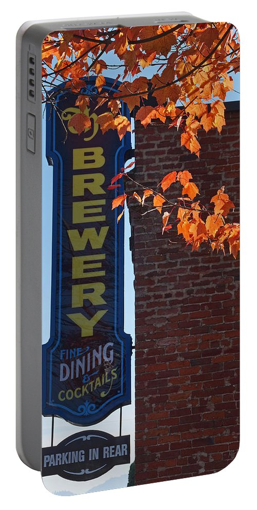 The Brewery Portable Battery Charger featuring the photograph The Brewery by Mick Anderson