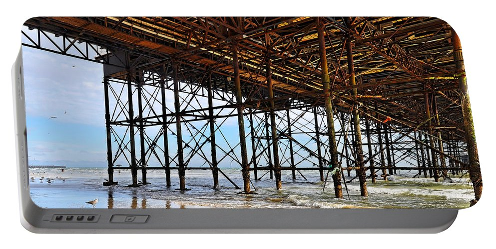 Brighton Portable Battery Charger featuring the photograph The Brighton Pier by Dutourdumonde Photography