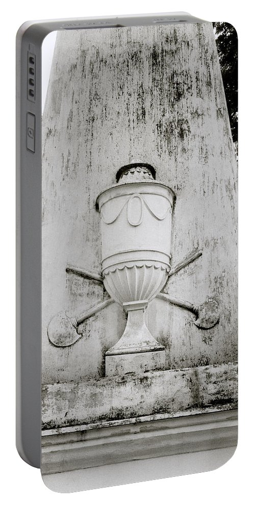Sir Portable Battery Charger featuring the photograph The Calcutta Cemetery by Shaun Higson