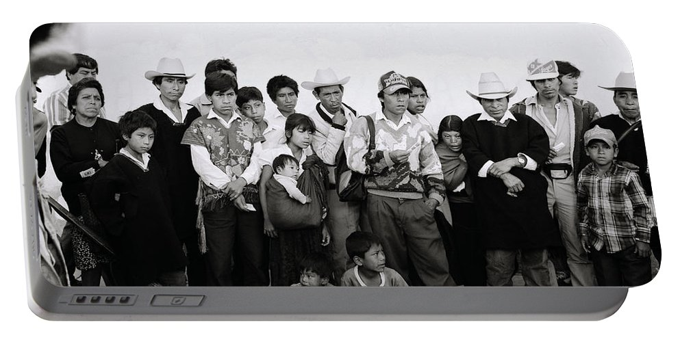Mexico Portable Battery Charger featuring the photograph The Chiapas People by Shaun Higson