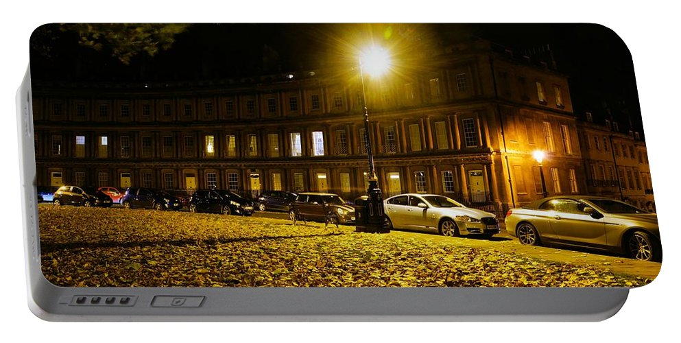 Georgian Portable Battery Charger featuring the photograph The Circus At Night by Ron Harpham