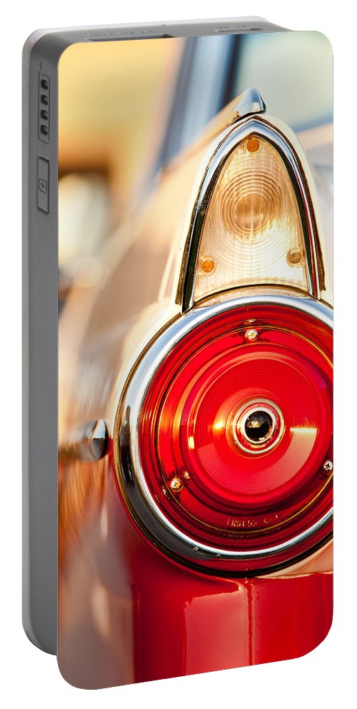 Ford Portable Battery Charger featuring the photograph The Crown Vic by Melinda Ledsome