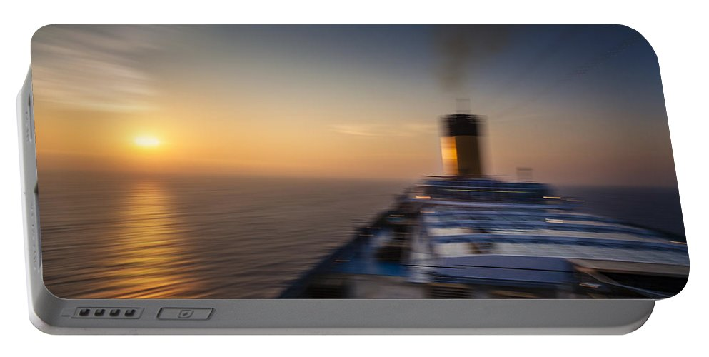 Cruise Portable Battery Charger featuring the photograph The Cruise by Alfio Finocchiaro