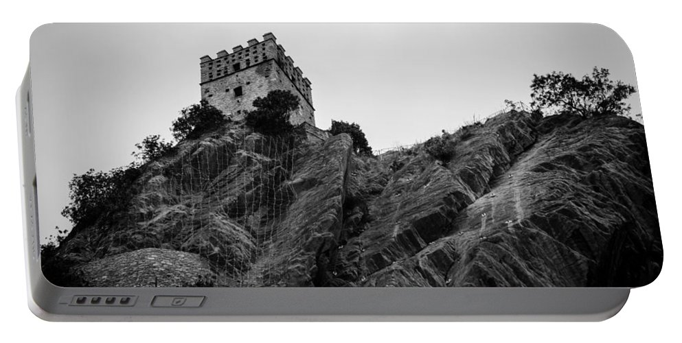 Landscape Portable Battery Charger featuring the photograph The Fortress by Andrea Mazzocchetti