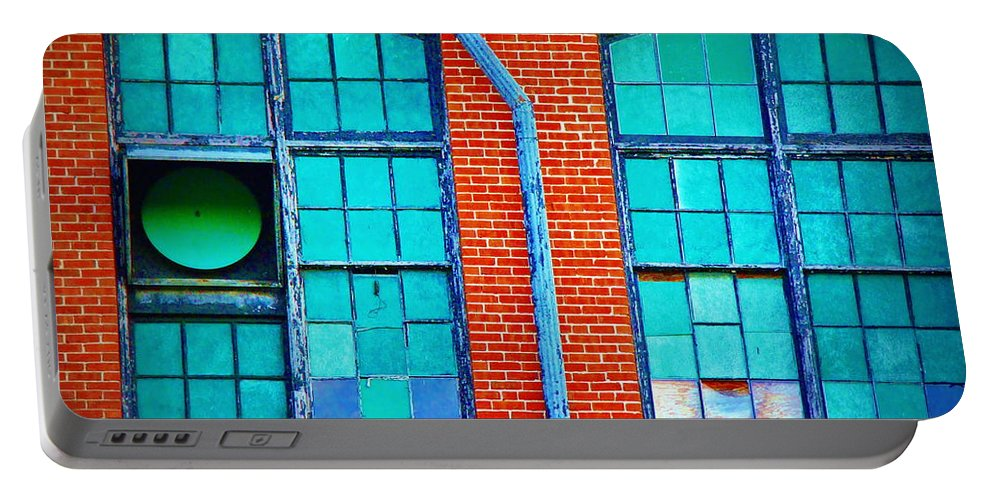 Fine Art Portable Battery Charger featuring the photograph The Fun Factory by Rodney Lee Williams