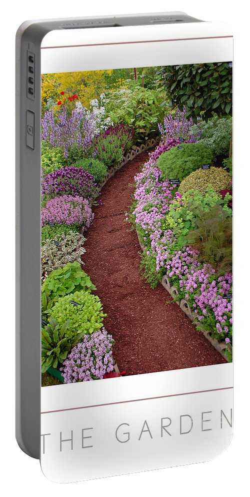 Garden Portable Battery Charger featuring the photograph The Garden Poster by Mike Nellums