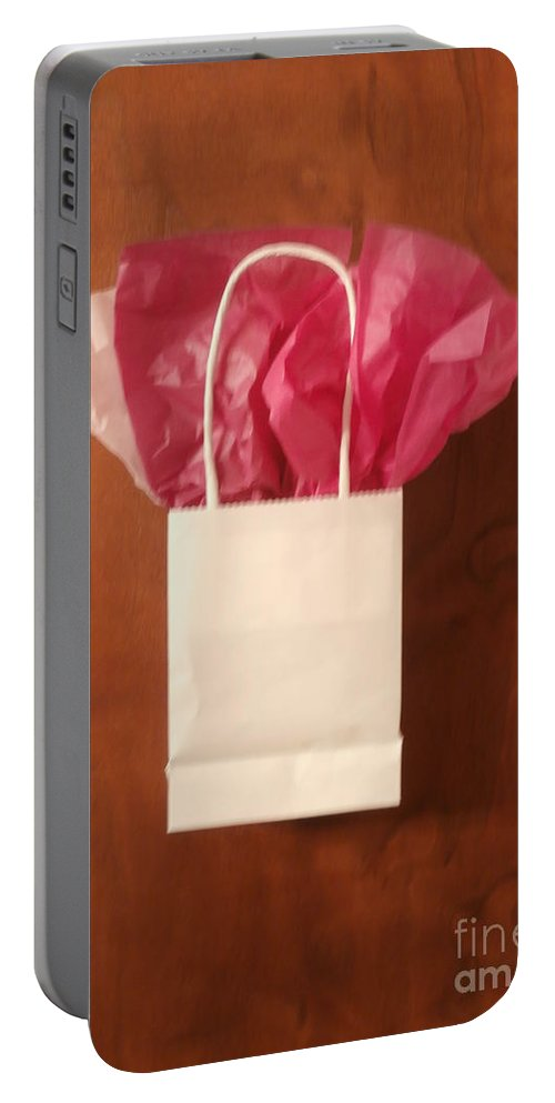 Christmas Portable Battery Charger featuring the photograph The Gift by Joseph Baril
