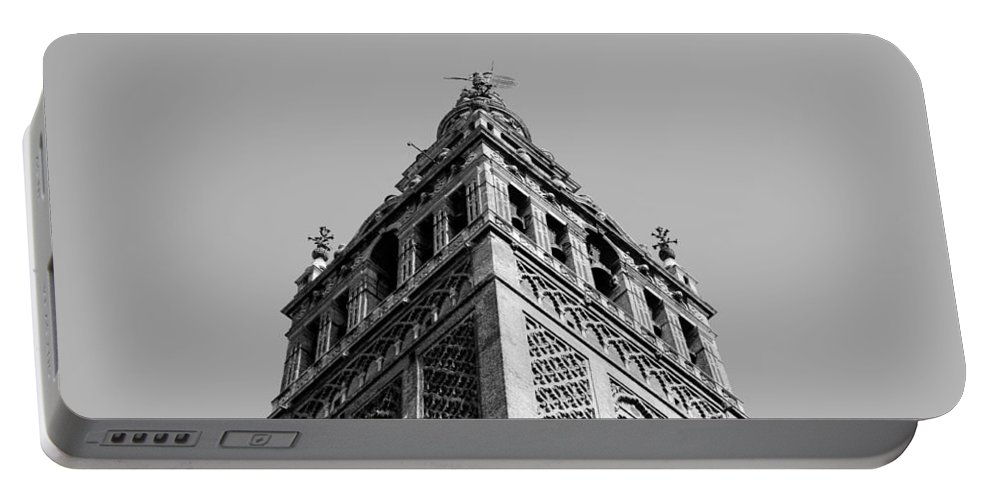 Seville Portable Battery Charger featuring the photograph The Giralda by Andrea Mazzocchetti
