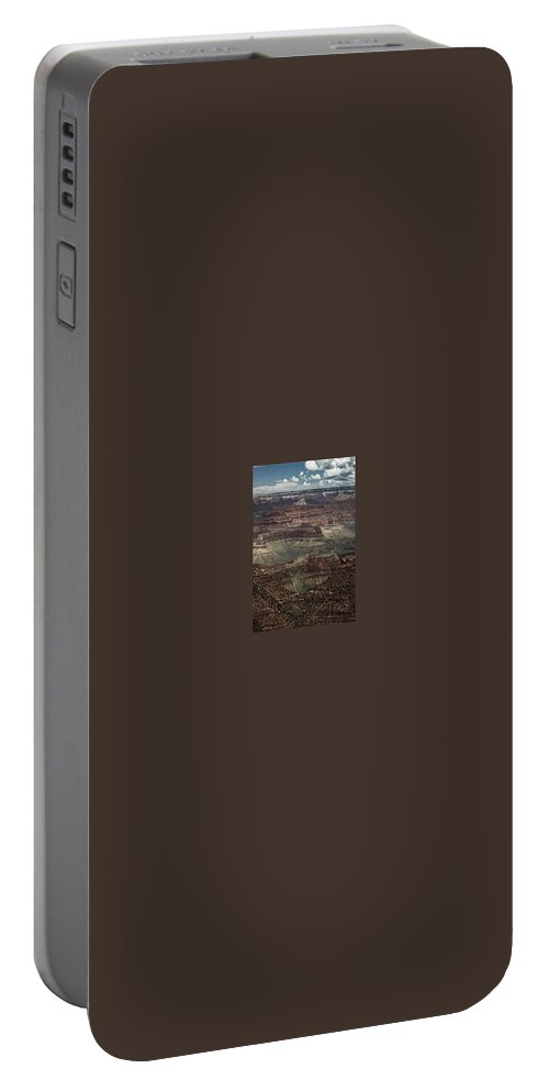Outdoors Portable Battery Charger featuring the photograph The Grandest Canyon by Kathleen Odenthal