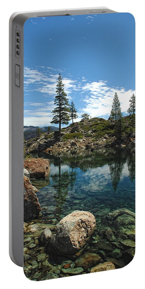 Country Portable Battery Charger featuring the photograph The Great Outdoors by Donna Blackhall