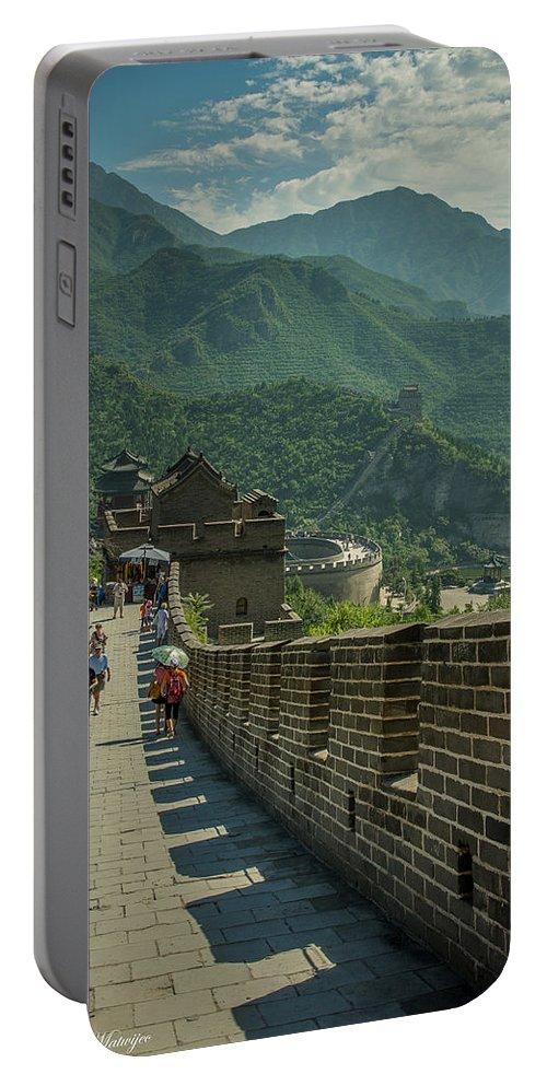 Great Portable Battery Charger featuring the photograph The Great Wall by Andrew Matwijec