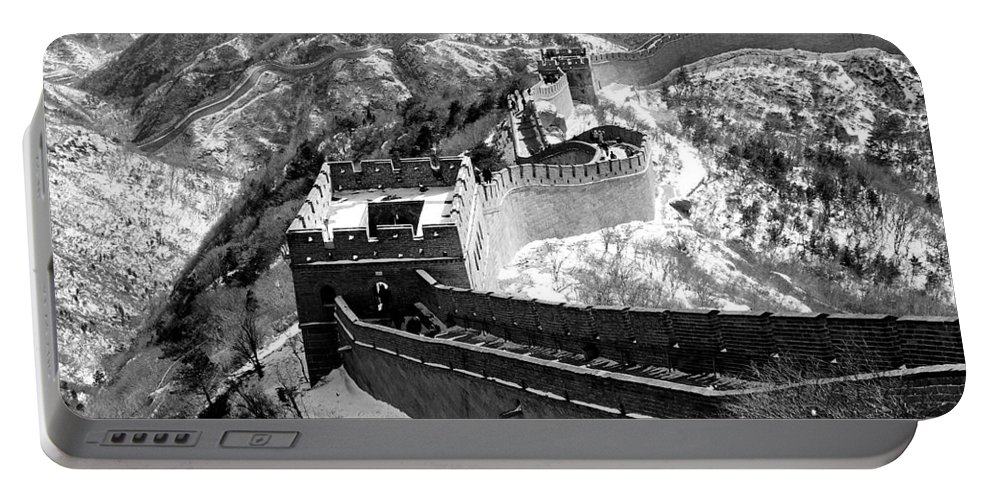 China Portable Battery Charger featuring the photograph The Great Wall Of China by Sebastian Musial