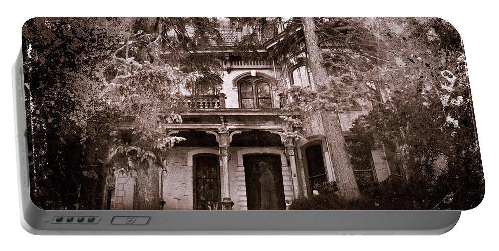 Haunting Portable Battery Charger featuring the photograph The Haunting by David Dehner