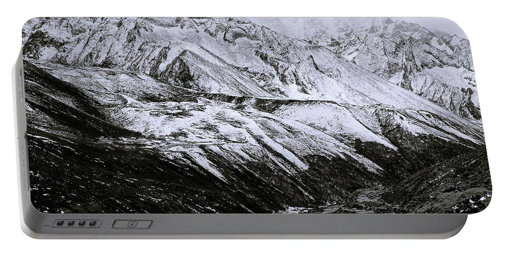 Dramatic Landscape Portable Battery Charger featuring the photograph The Himalaya by Shaun Higson