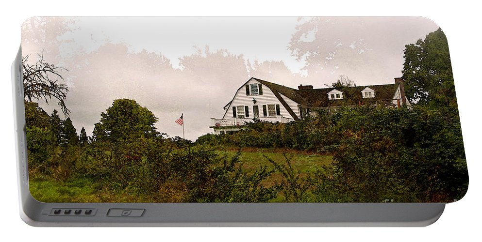 Inn Portable Battery Charger featuring the photograph The Inn by Gwyn Newcombe