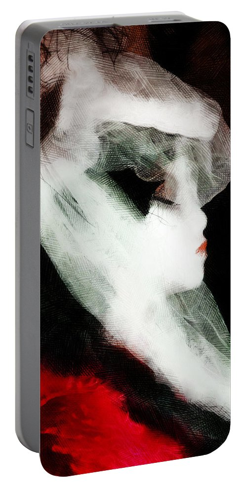 Lady Portable Battery Charger featuring the photograph The Lady Is Not For Turning by Steve Taylor