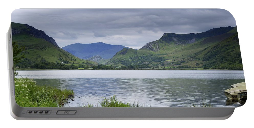 Photography Portable Battery Charger featuring the photograph The Lake by Wendy Wilton
