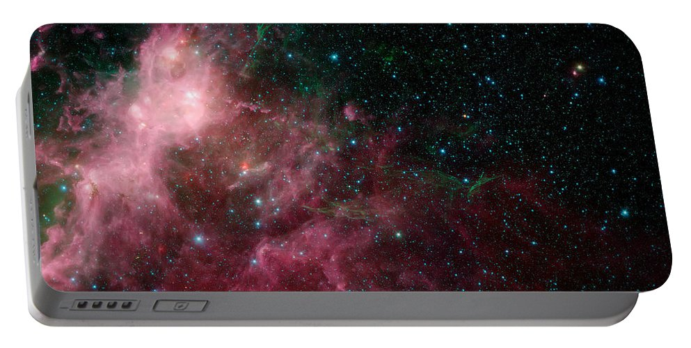 Nasa Images Portable Battery Charger featuring the photograph The Life And Death Of Stars by Jennifer Rondinelli Reilly - Fine Art Photography