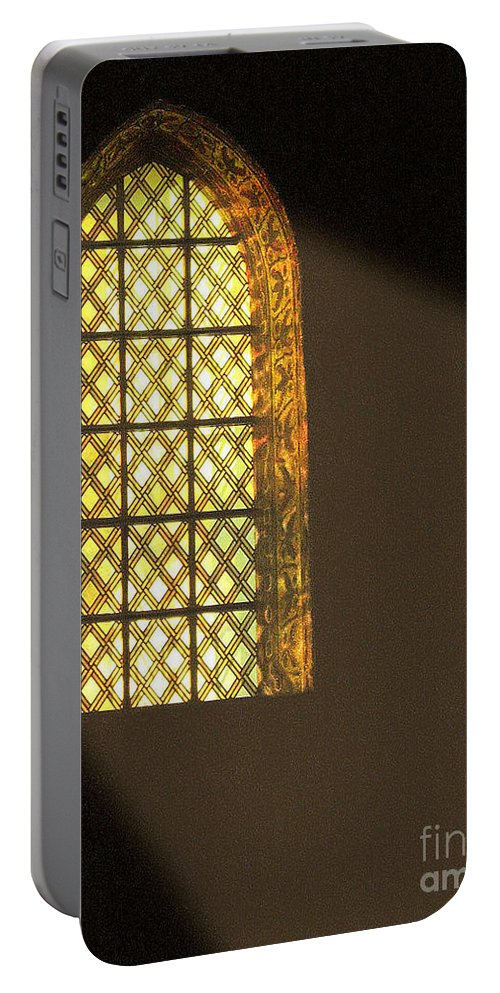 Italy Portable Battery Charger featuring the photograph The Light by Irina Davis