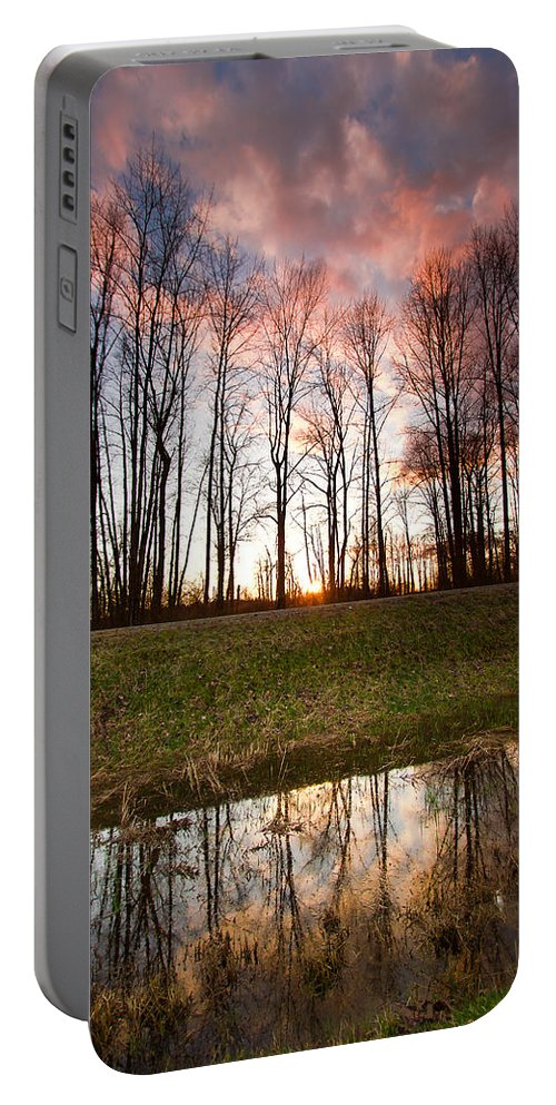 Marsh Portable Battery Charger featuring the photograph The Marsh by Eti Reid