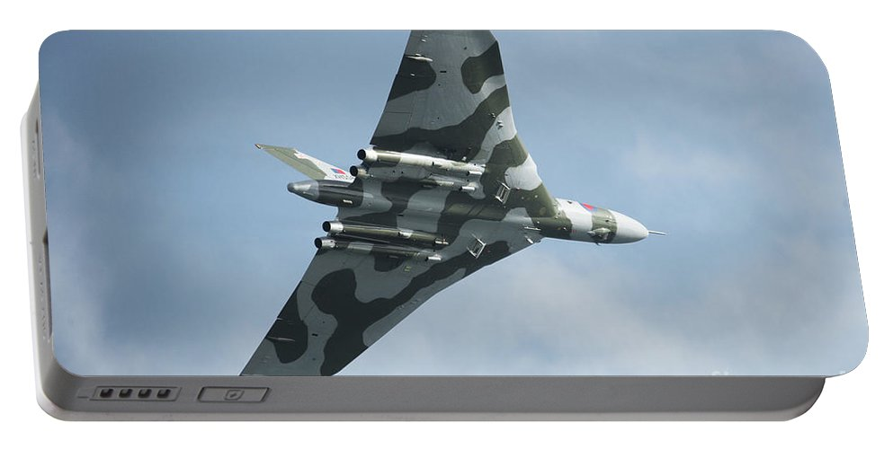 Vulcan Portable Battery Charger featuring the photograph The Mighty Vulcan by Rob Hawkins
