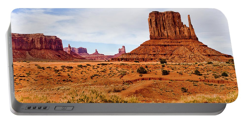 The Mittens Portable Battery Charger featuring the photograph The Mitten by Peter Tellone
