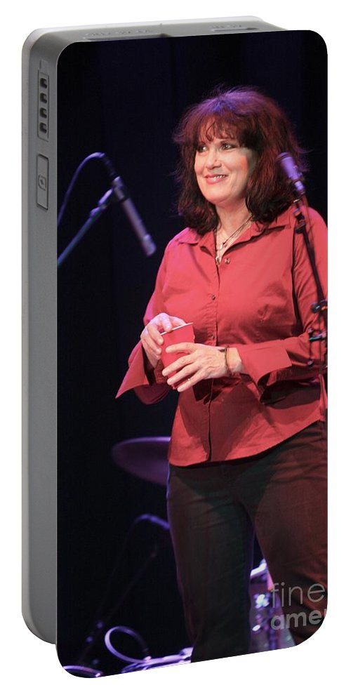 The Motels Portable Battery Charger featuring the photograph The Motels by Concert Photos