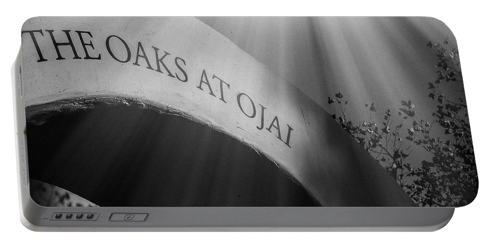 Ojai Photographs Portable Battery Charger featuring the photograph The Oaks At Ojai by David Millenheft
