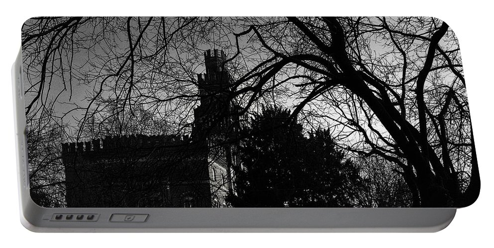 Castle Portable Battery Charger featuring the photograph The Old Castle by Alfio Finocchiaro