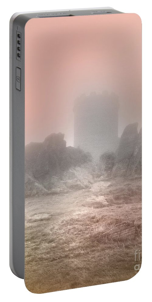 Turrets Portable Battery Charger featuring the photograph The One Tower by Linsey Williams