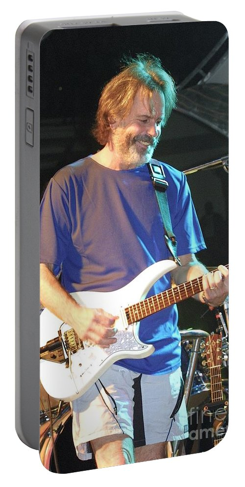 Guitar Portable Battery Charger featuring the photograph The Other Ones by Concert Photos