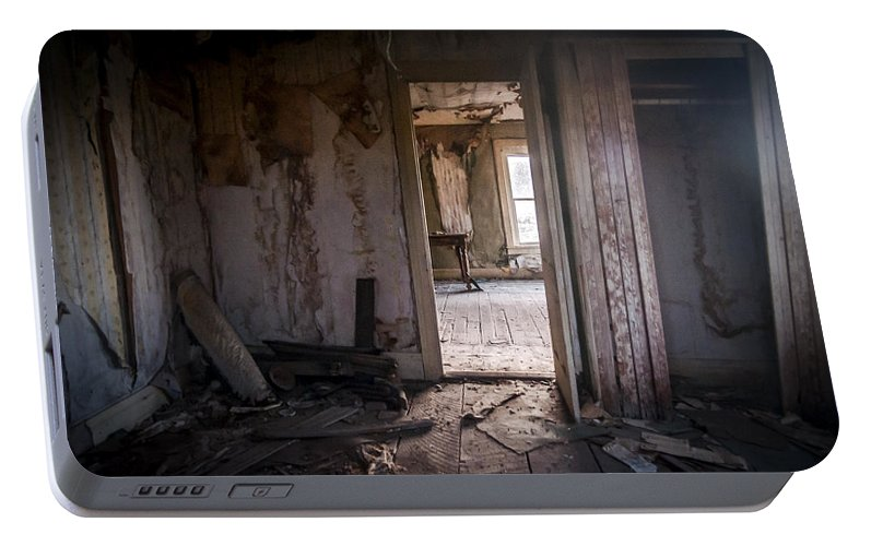 Bodie Portable Battery Charger featuring the photograph The Other Room by Cat Connor