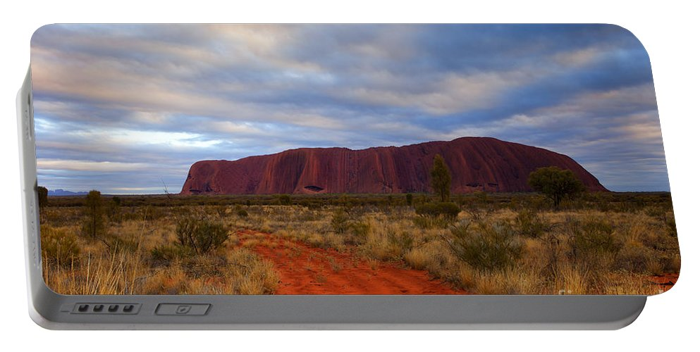 Ularu Portable Battery Charger featuring the photograph The Path To Red by Mike Dawson