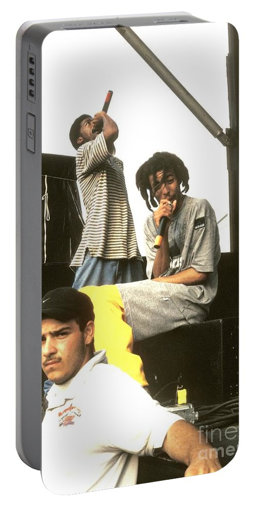Performance Portable Battery Charger featuring the photograph The Pharcyde by Concert Photos