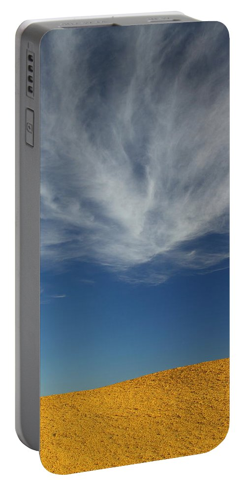 The Pinnacles Portable Battery Charger featuring the photograph The Pinnacles 2am-111016 by Andrew McInnes