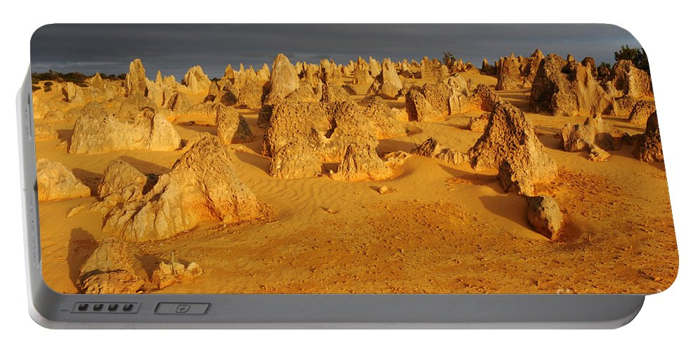 Pinnacles Portable Battery Charger featuring the photograph The Pinnacles 4 by Vivian Christopher