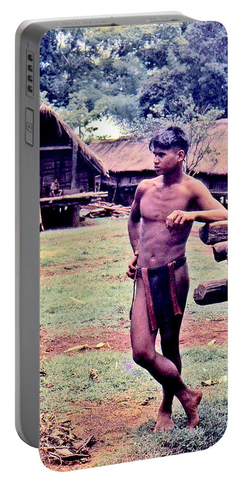 Montagnard Portable Battery Charger featuring the photograph The Prime Of Life by Norman Johnson