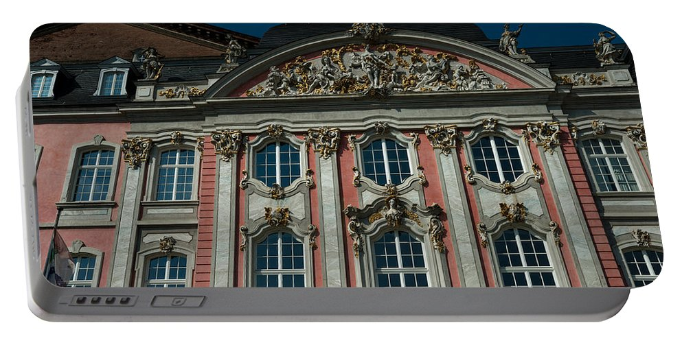 Sunlight Portable Battery Charger featuring the photograph The Prince Electors Palace by TouTouke A Y